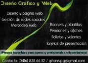 Todo en diseño gráfico y web (precios accesibles)
